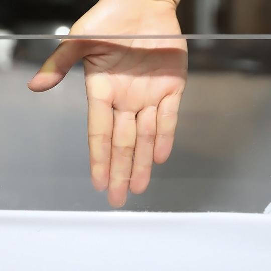 شفافية لوح أكريليك